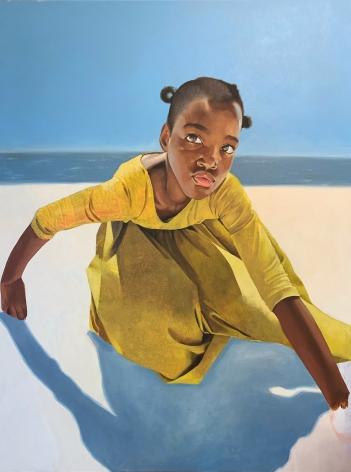 ADRIENNE BROWN-DAVID  Zion, 2020  oil on canvas  40h x 30w in