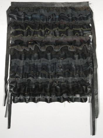 ANITA COOKE Bicycle Tire Apron I, 2009