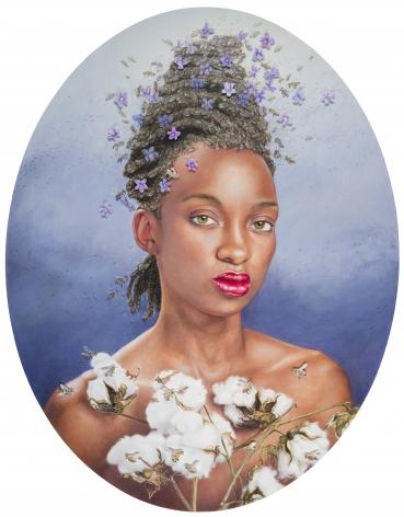 MARGARET MUNZ-LOSCH, The Violet Queen, 2014