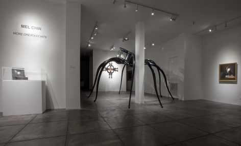 MEL CHIN III More Greatest Hits, [Main Gallery Installation View]