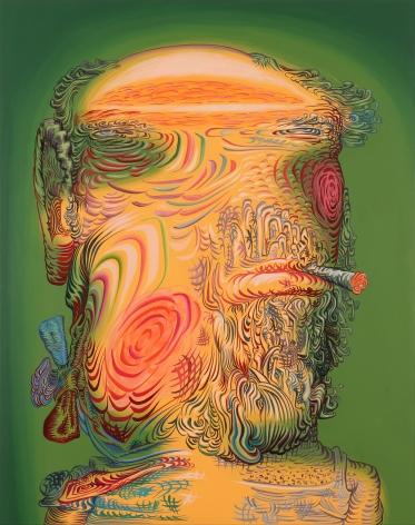 JAMES ESBER, Smoker with Bow, 2020