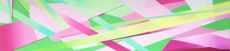 MARNA SHOPOFF, Cadmium Green and Pink, 2020