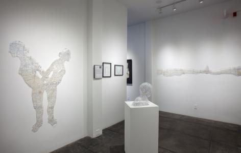 NIKKI ROSATO |||Cut, [Middle Gallery Installation View]