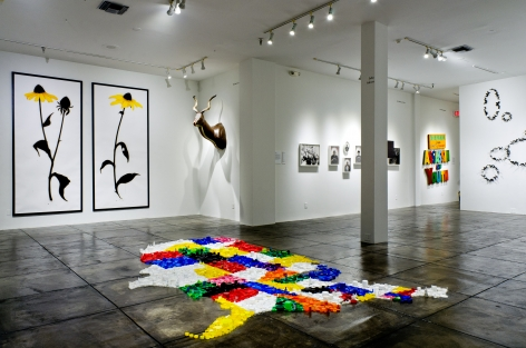 P.2 PROJECTS III in conjunction with Prospect 2 Biennial, [Main Gallery Installation View]