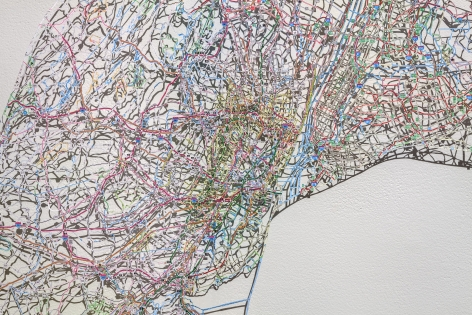 NIKKI ROSATO Untitled (Merged) V[detail], 2015