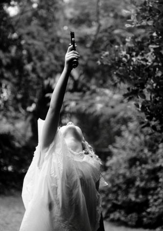MARCUS KENNEY, Girl with Gun, 2015