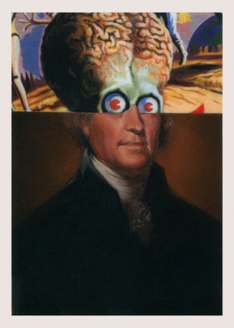 ADAM MYSOCK Early American Aliens (Thomas Jefferson), 2016