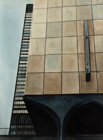 AMY PARK Mies van der Rohe and Concrete Building (Chicago), 2011