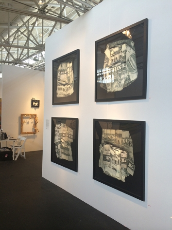 artMRKT SAN FRANCISCO 2014 III JONATHAN FERRARA GALLERY booth 505, [Installation View]