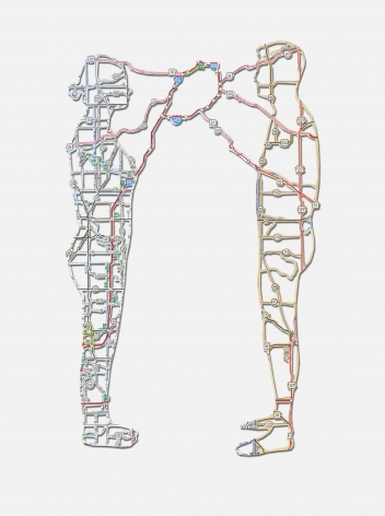 NIKKI ROSATO, Connections no. 3, 2012