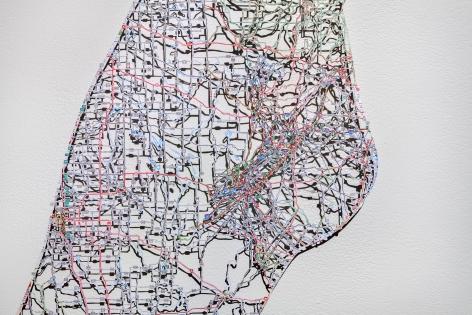 NIKKI ROSATO Untitled (Merged) I[detail], 2014