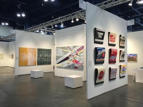 Texas Contemporary Art Fair 2015 III JONATHAN FERRARA GALLERY booth 408, [Installation View]