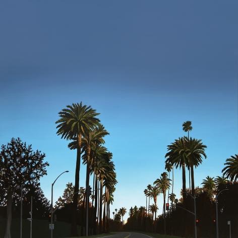 KRISTIN MOORE, Beverly Hills Golden Hour, 2021