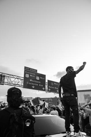TRENITY THOMAS, BLM Protest, 2020