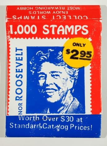 SKYLAR FEIN 1000 Stamps (Eleanor Roosevelt), 2014