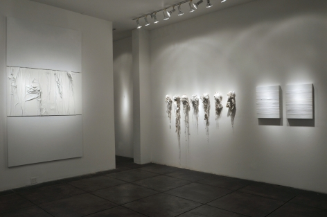 SIDONIE VILLERE III Camouflage, [Main Gallery Installation View]