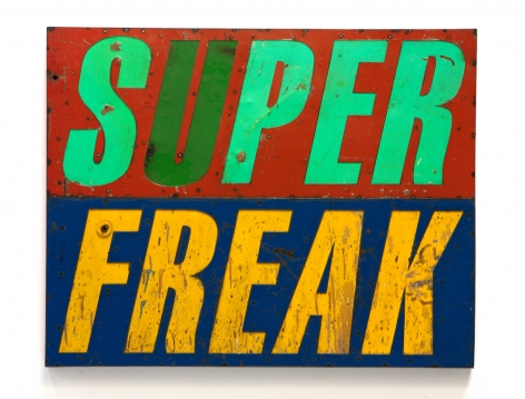 DAVID BUCKINGHAM Super Freak, 2010