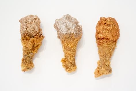 ARTEMIS ANTIPPAS, Chicken (copper, smoky quartz, fire opal), 2014