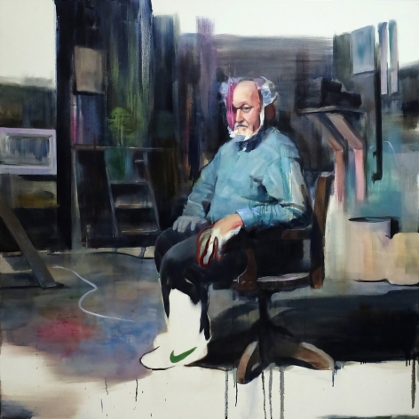 AKIHIKO SUGIURA, Self Portrait as an Old Man, 2017