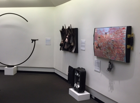 GUNS IN THE HANDS OF ARTISTSIII The Aspen Institute, [Installation View]