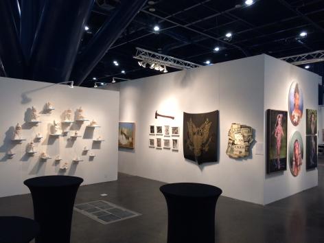 TEXAS CONTEMPORARY 2014 III JONATHAN FERRARA GALLERY booth 507, [Installation View]