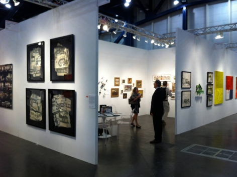 TEXAS CONTEMPORARY 2013 III JONATHAN FERRARA GALLERY booth 611, [Installation View]