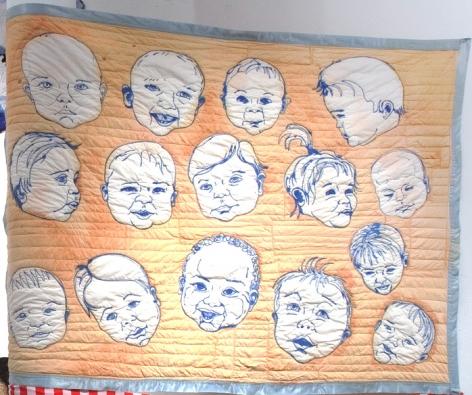 GINA PHILLIPS Baby Blanket, 2011