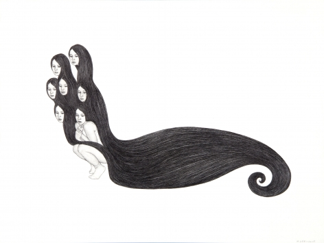 MONICA ZERINGUE, Hydra (study), 2010