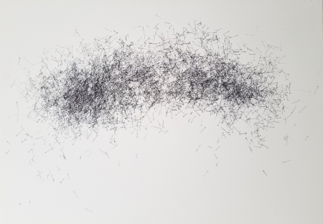JOHN ADELMAN, 5,307 nails, 2018
