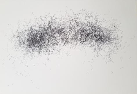 JOHN ADELMAN, 5,307 nails, 2018