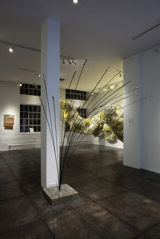 NO DEAD ARTISTS III 16th Annual National Juried Exhibition of Contemporary Art, [Main Gallery Installtion View]