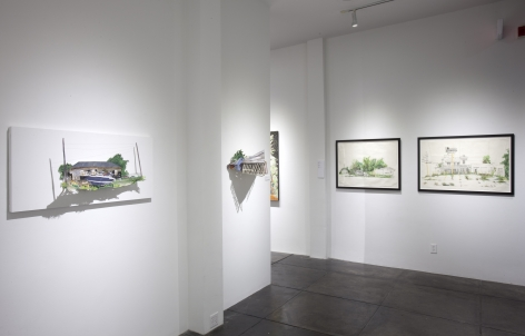 HANNAH CHALEW III Steady Creep, [Middle Gallery Installation View]