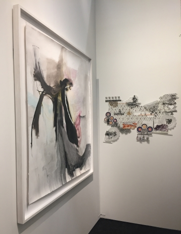 ART ON PAPER, booth D3 | Installation View