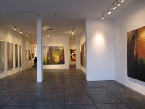 SANDY CHISM III Sliver, [Main Gallery Installation View]