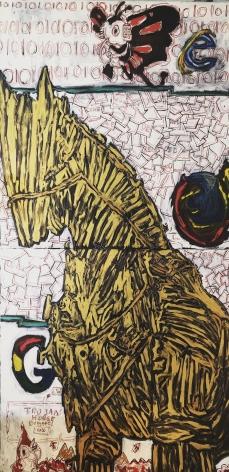JOHN ISIAH WALTON, Trojan Horse, 2020