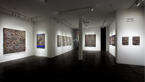 ANITA COOKE III Density, [Main Gallery Installation View]