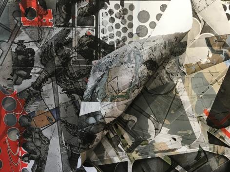 CARMON COLANGELO Precarious World[detail], 2016
