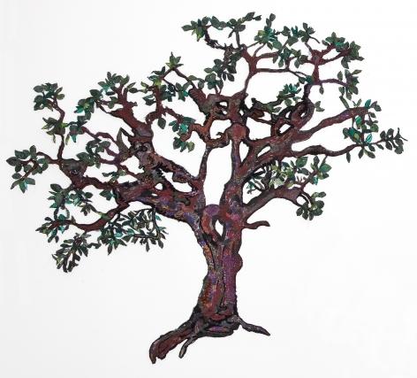 GINA PHILLIPS Adam and Eve (Tree I), 2010