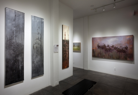 SANDY CHISM III Regarding the Incidence of Purpose, [Middle Gallery Installation View]