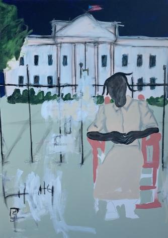 JAMMIE HOLMES, Grandma Visits White House, 2019