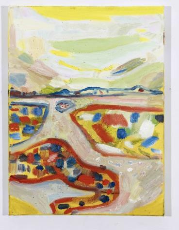 LISA SANDITZ, Landscape Color Study 27, 2019