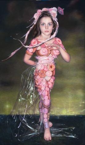 MARGARET MUNZ-LOSCH, Pink Pret a Porter, 2011