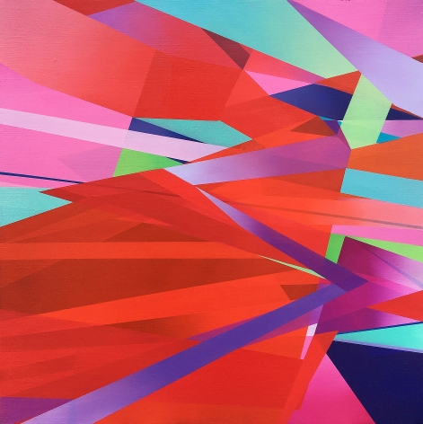 MARNA SHOPOFF, Cadmium Red Abstraction, 2020