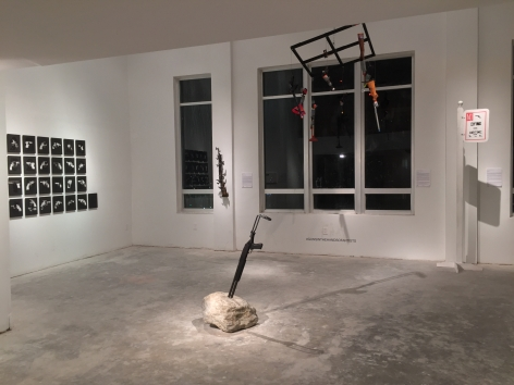 GUNS IN THE HANDS OF ARTISTS ||| Miami Project Art Fair[Deauville Installation View]