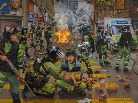 Stephen Tanis, Policing (Hong Kong), 2021