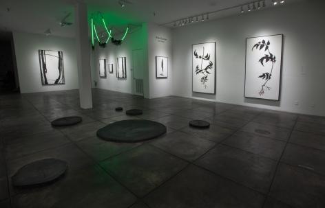 BRIAN BORRELLO III Dark Matter, [Main Gallery Installation View]