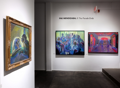 PIKI MENDIZABAL, The Parade Ends