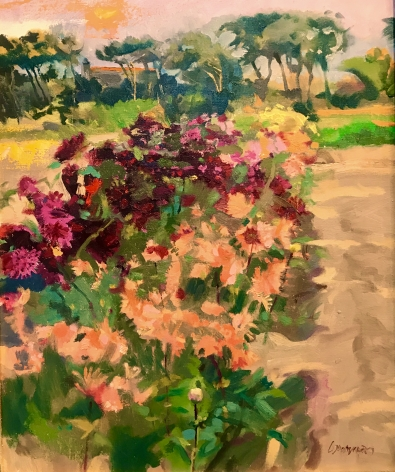 WILLIAM WOODWARD, Raising Dahlias, 2015