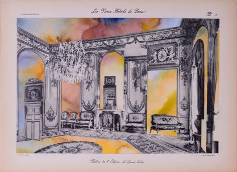 NURHAN GOKTURK The GrandeSalon with Tapestry, 2017