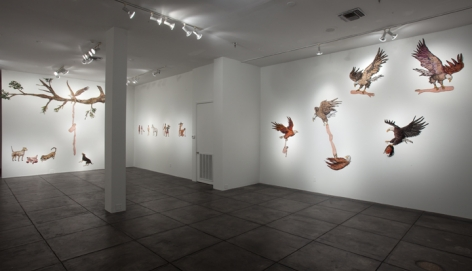 GINA PHILLIPS III Heroes and Villains, [Main Gallery Installation View]